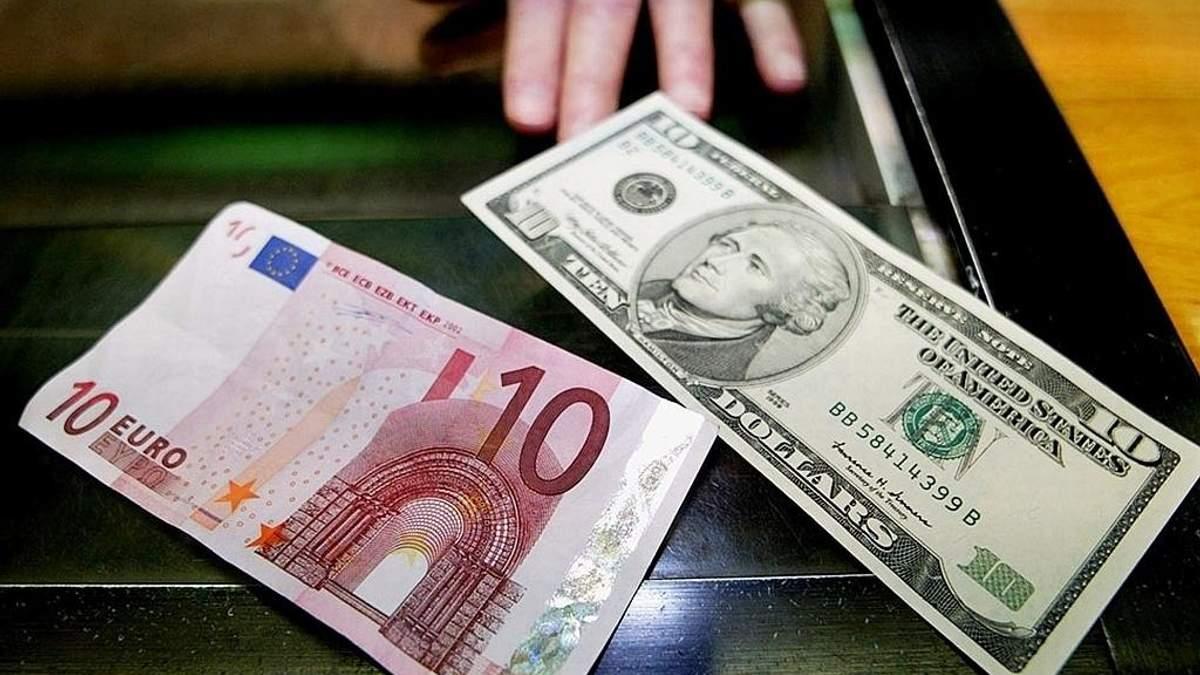 Курс валют НБУ на 11 липня: євро стрімко дешевшає