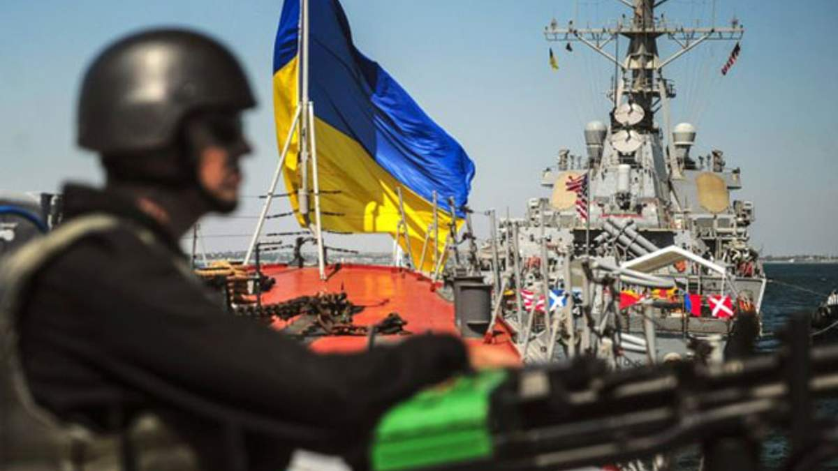 Как британские военные обучали украинских водолазов: видео