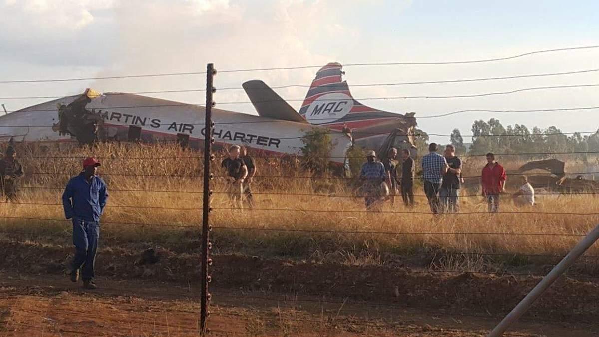 Падение самолета в ЮАР