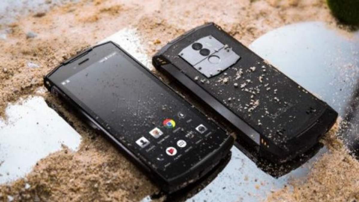 Смартфон Doogee S55 поступил в продажу