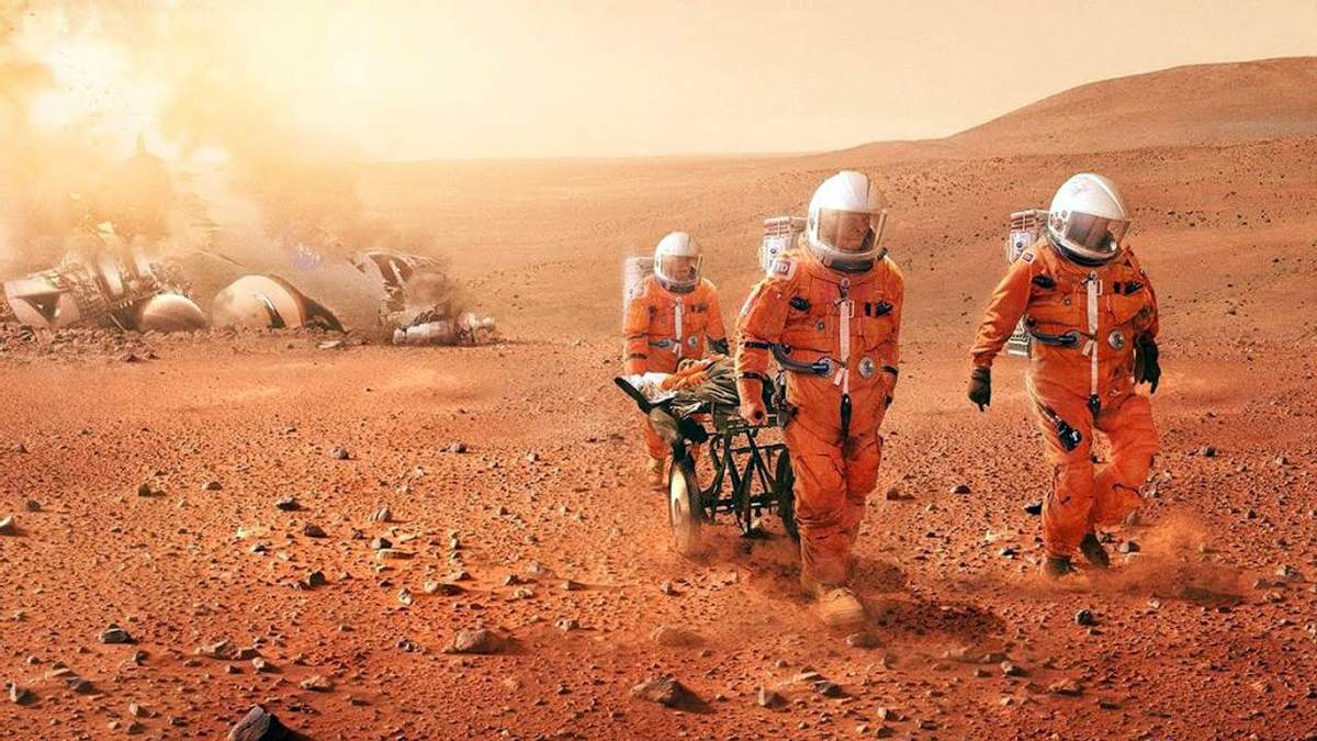 На Марсі найнебезпечніше для людини –  це заряджені сонячні частинки.