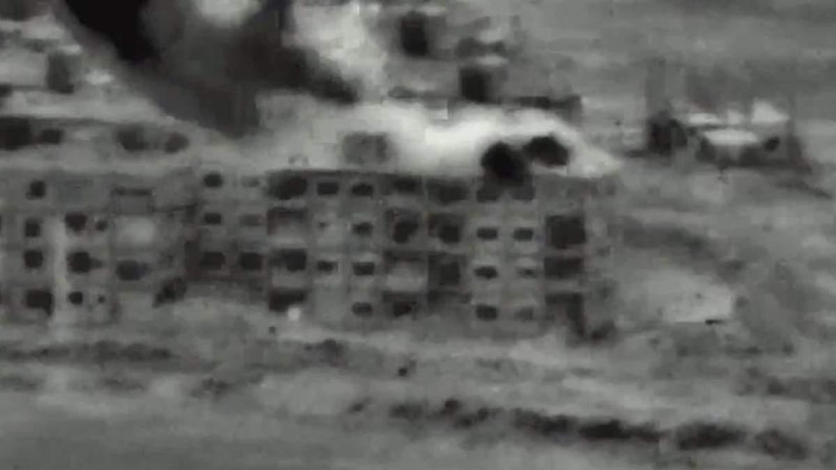 Опубліковані відео авіаударів Ізраїля