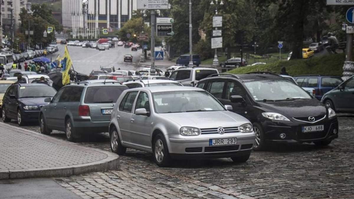 """Рада проголосовала за законы о """"евробляхах"""" в Украине"""