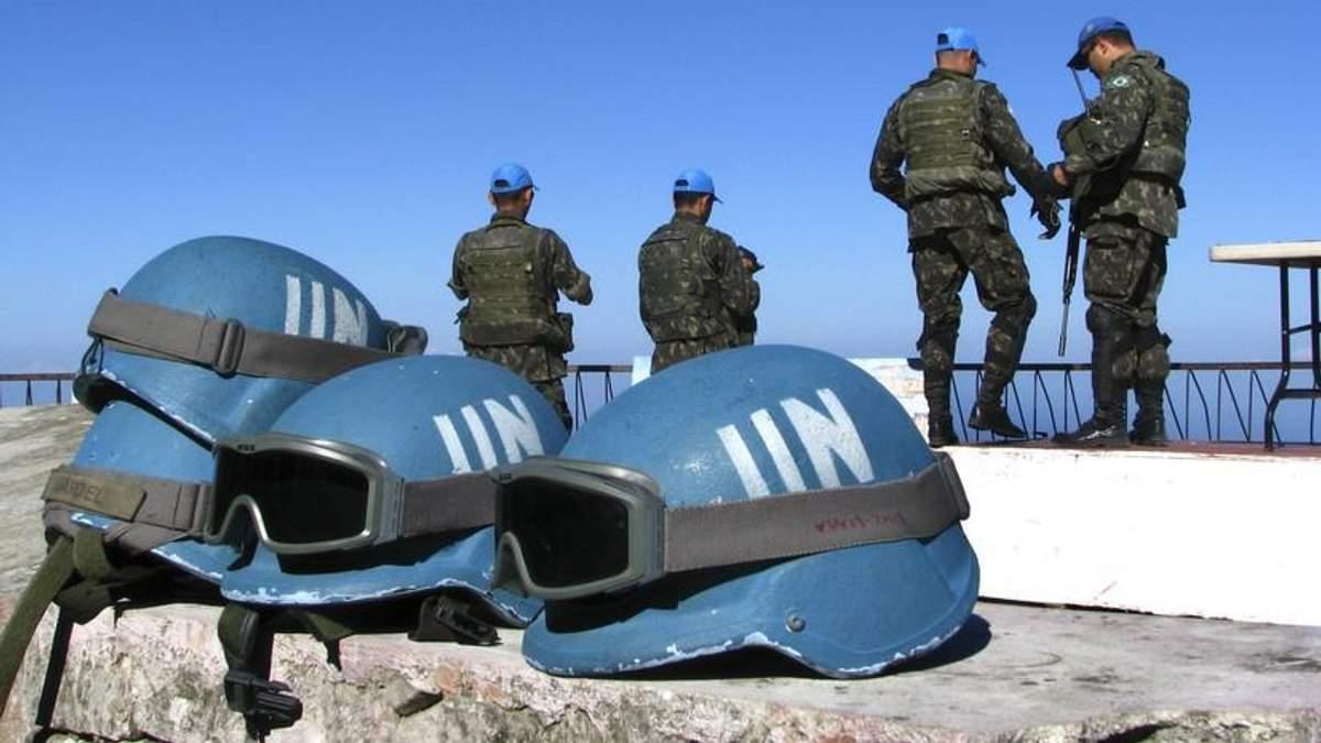 Миротворцев на Донбассе нет из России