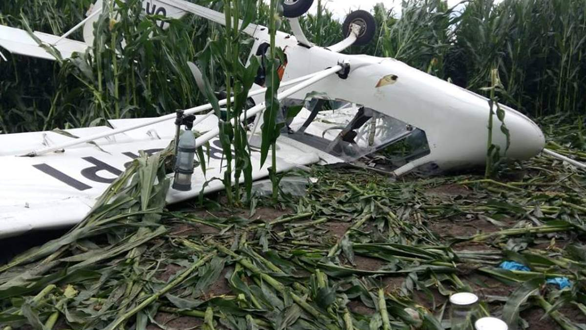 Авиакатастрофа в Сумской области