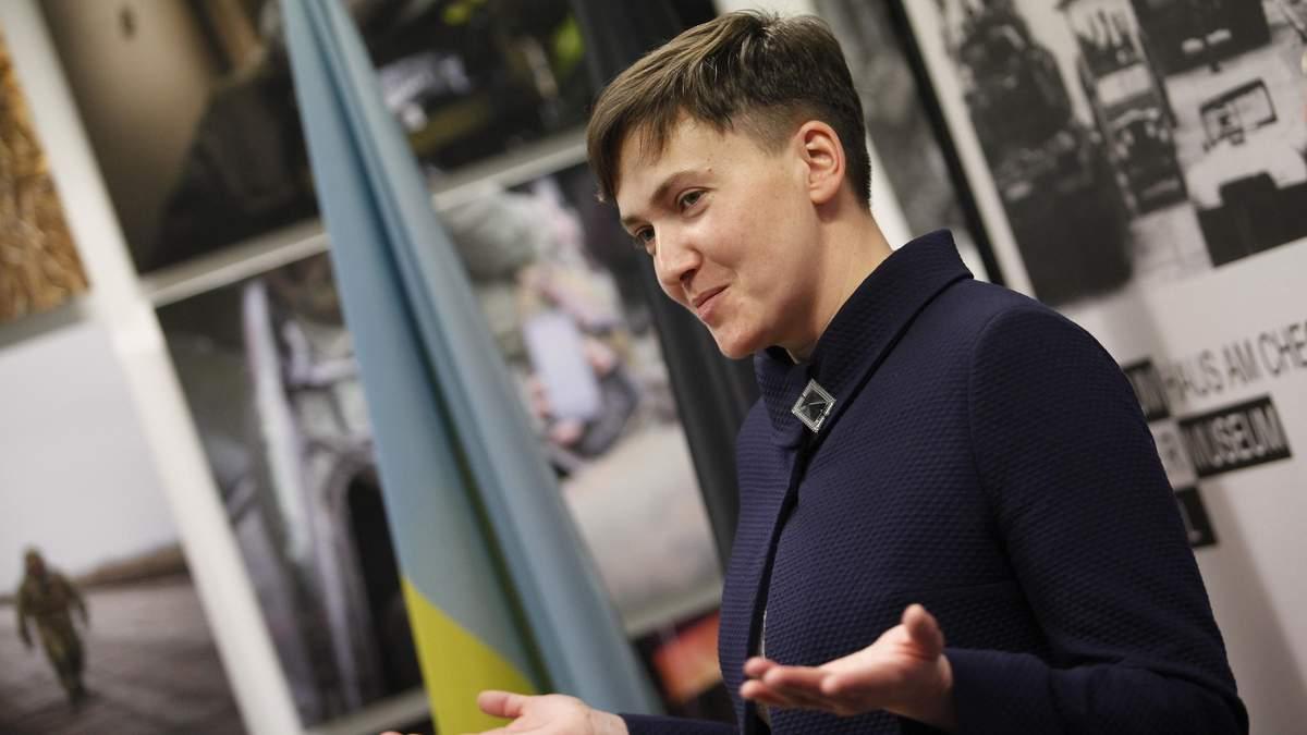 """Запобіжний захід Савченко не продовжили через """"замінування"""""""