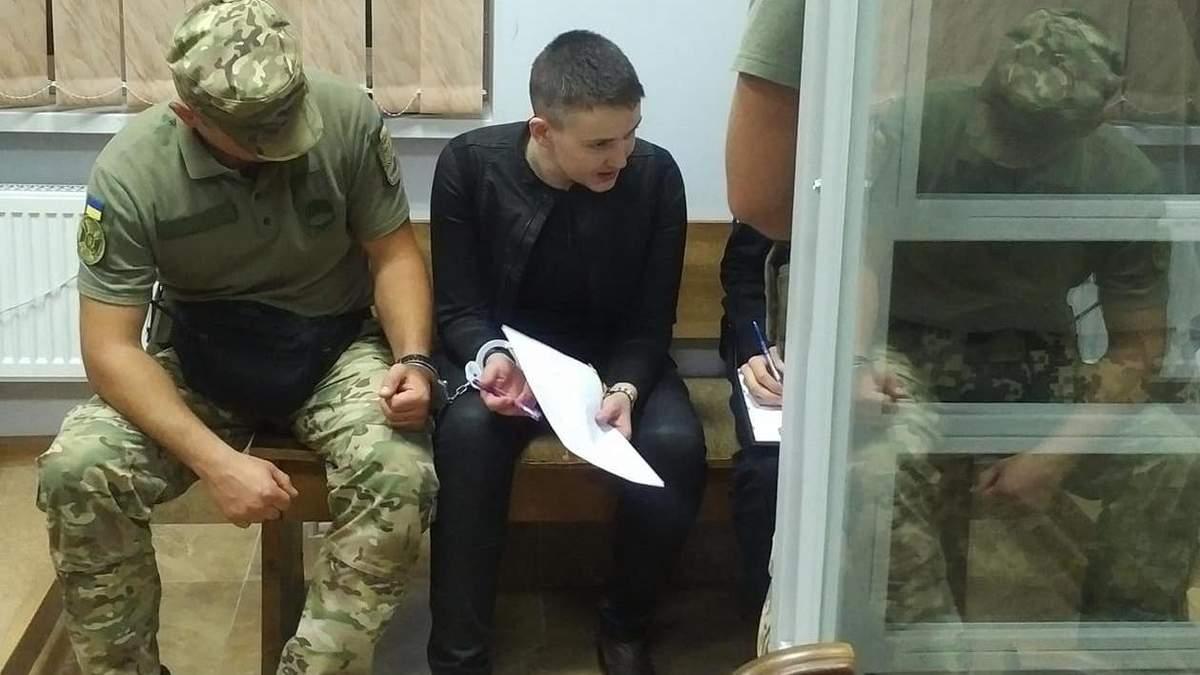 Савченко снова объявила бессрочную голодовку