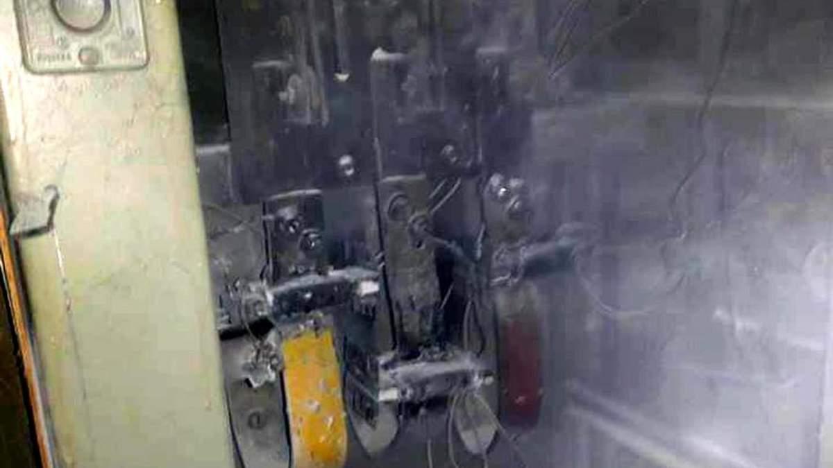 В Полтаве горела электрощитовая станция