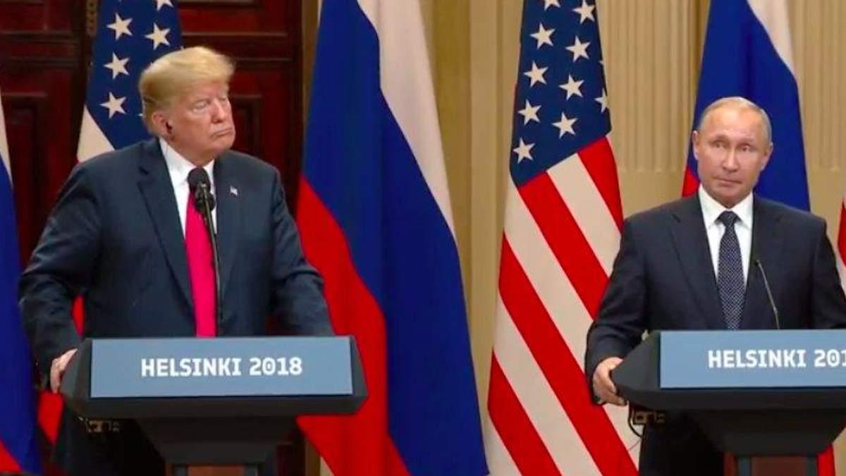 Путін і Трамп провели перші двосторонні переговори