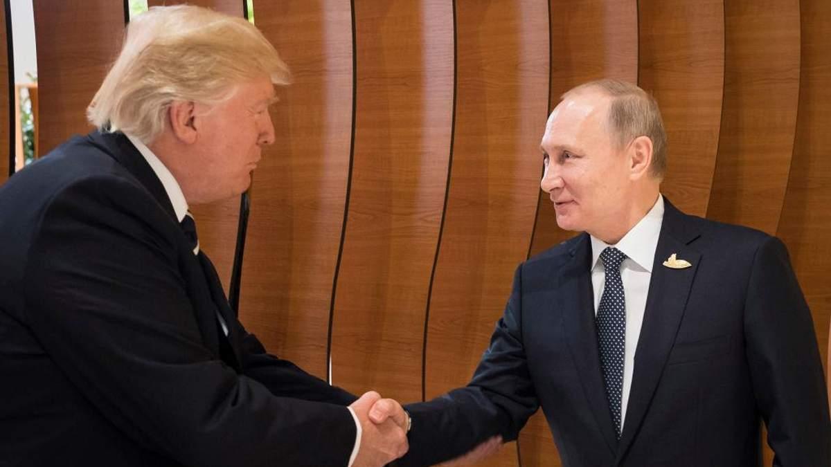 Трамп считает присоединение Крыма к России незаконным, – Путин