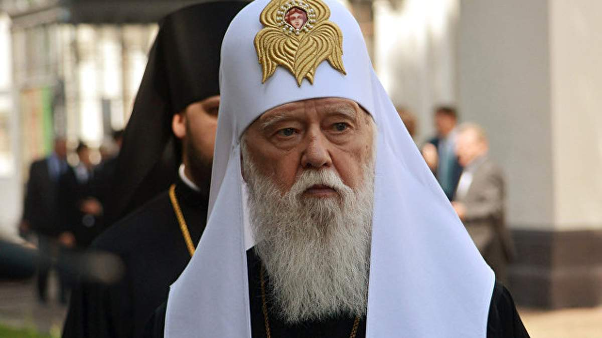 Філарет зробив нову заяву про автокефалію в Ураїні