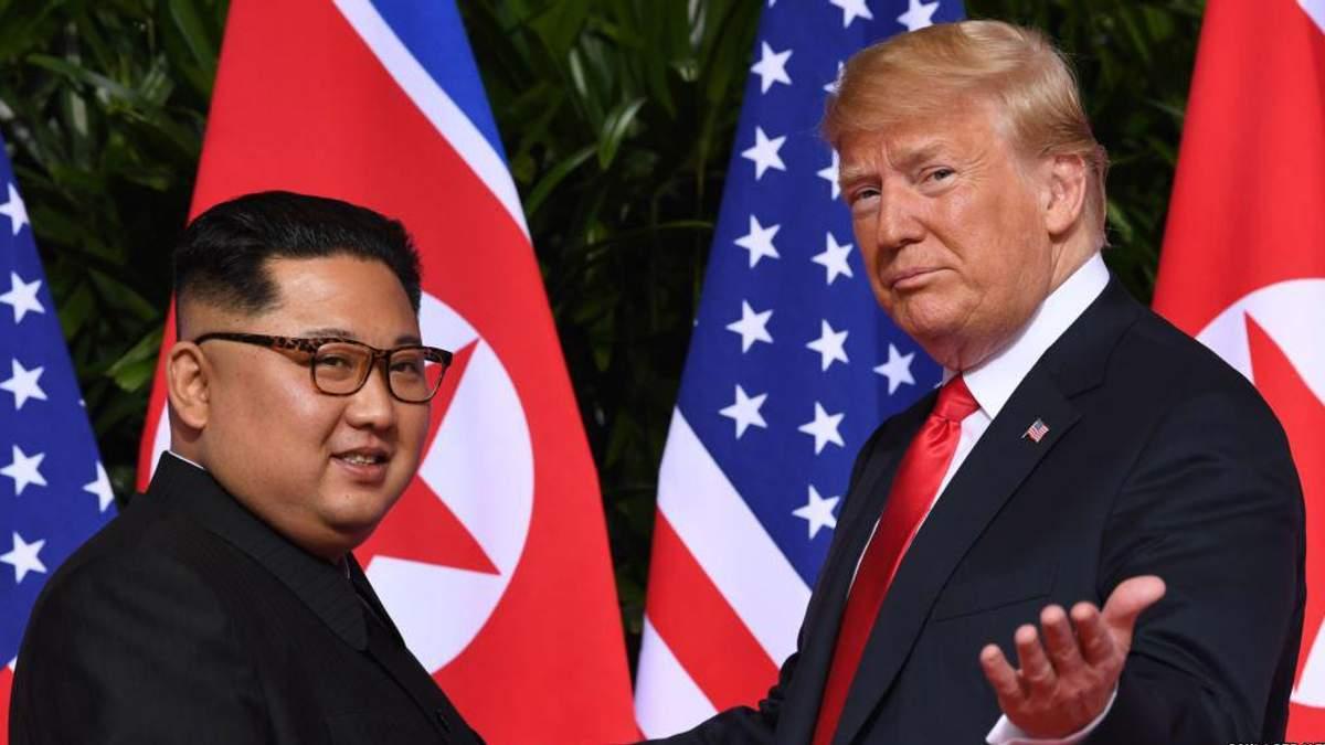 Трамп хоче знову зустрітися з Кім Чен Ином