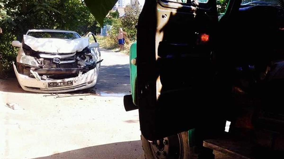 Нападение на активистов в Одессе в полиции считают аварией