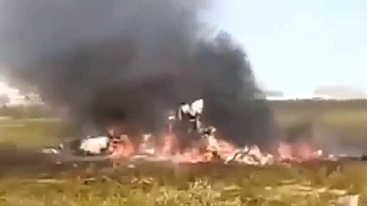 У Росії розбився вертоліт