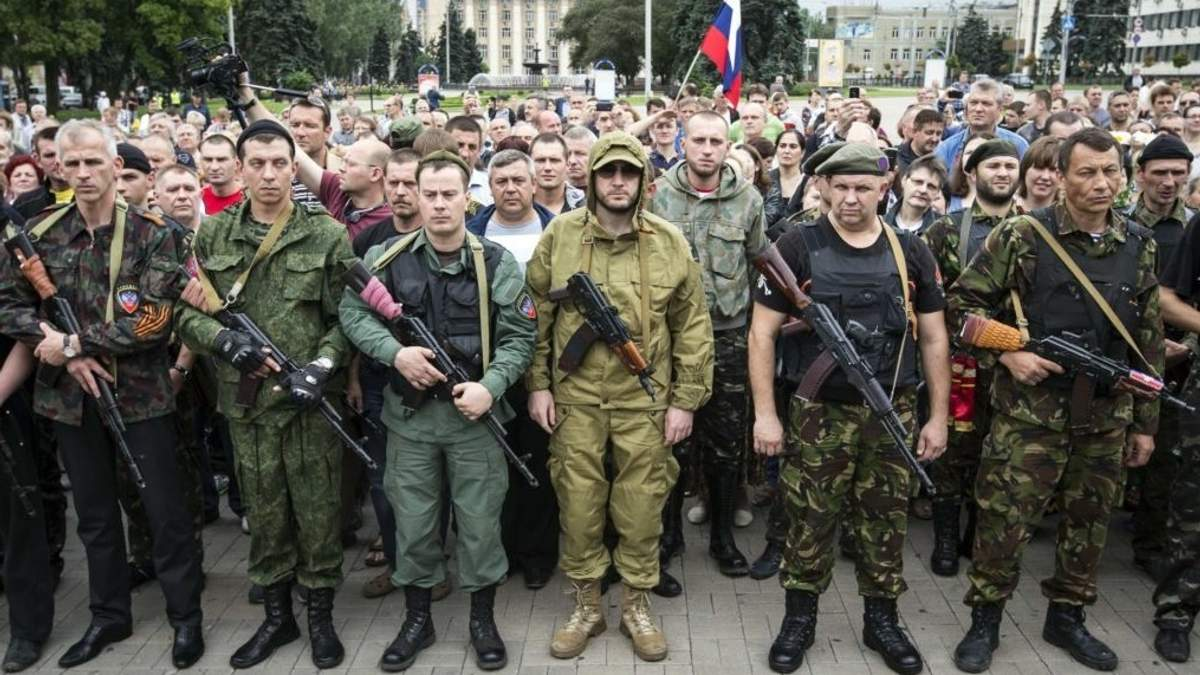 Пророссийские боевики на Донбассе готовят масштабную мобилизацию