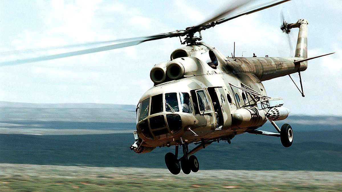У Росії розбився вертоліт Мі-8: 18 людей загинуло
