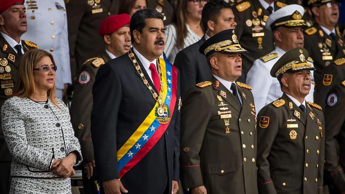 """""""Фланелевые солдаты"""" взяли на себя ответственность за покушение на Николаса Мадуро"""