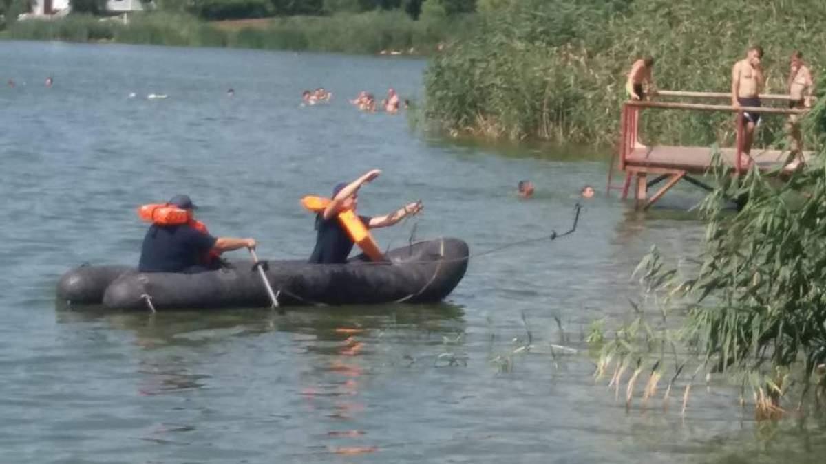 В Кропивницком на Новониколаевском пляже утонул юноша