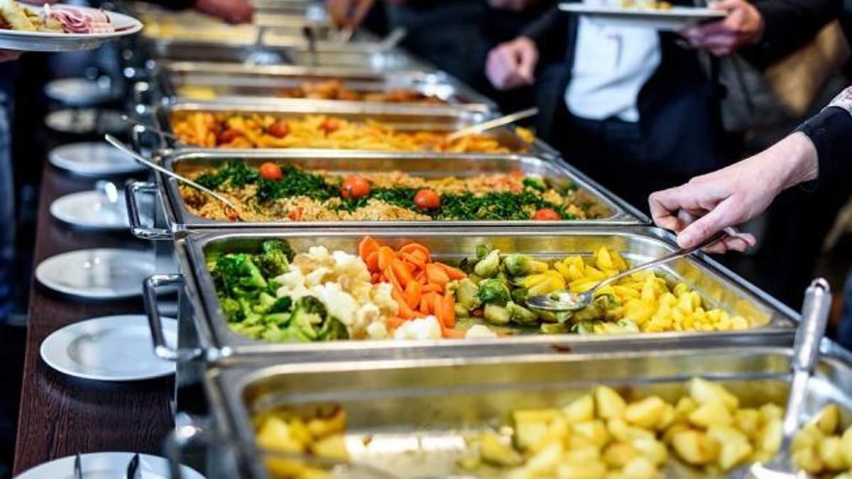 Їдальня Верховної Ради закупила продукти за завищеною ціною