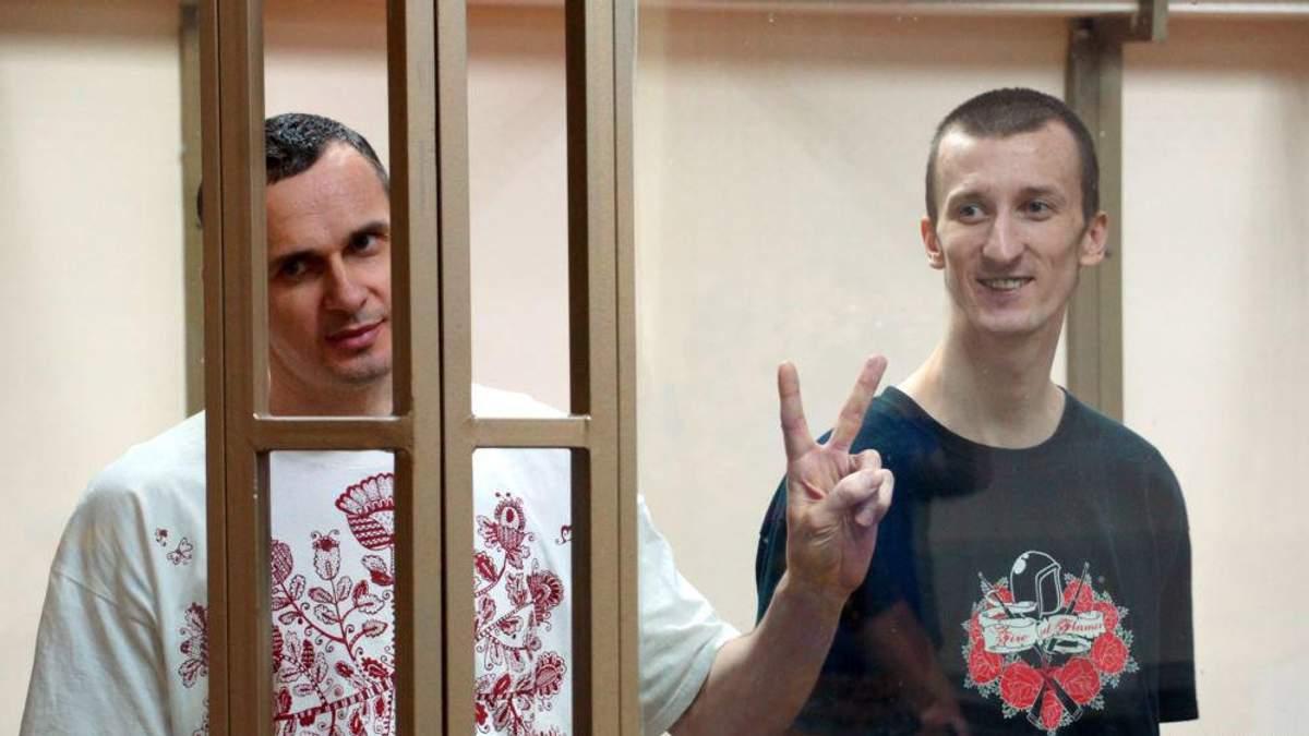В Крыму появилось уникальное граффити с Сенцовым и Кольченко