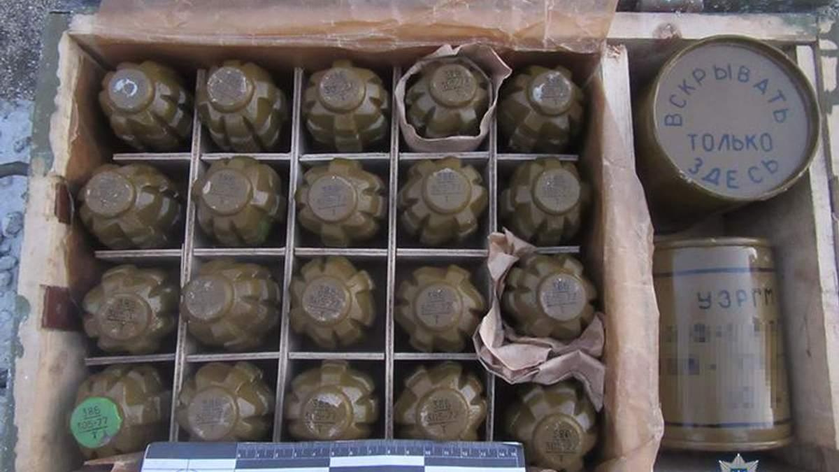 Ящик с гранатами нашли в грузовом поезде на Запорожье