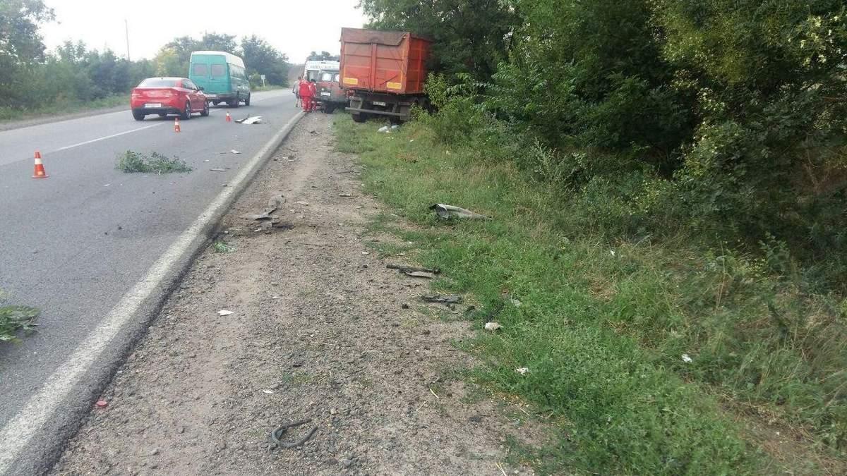 На трассе Николаев – Одесса произошло жуткое ДТП
