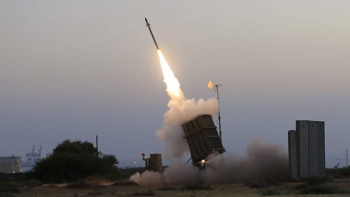 Ізраїль завдав ракетних ударів по території Палестини