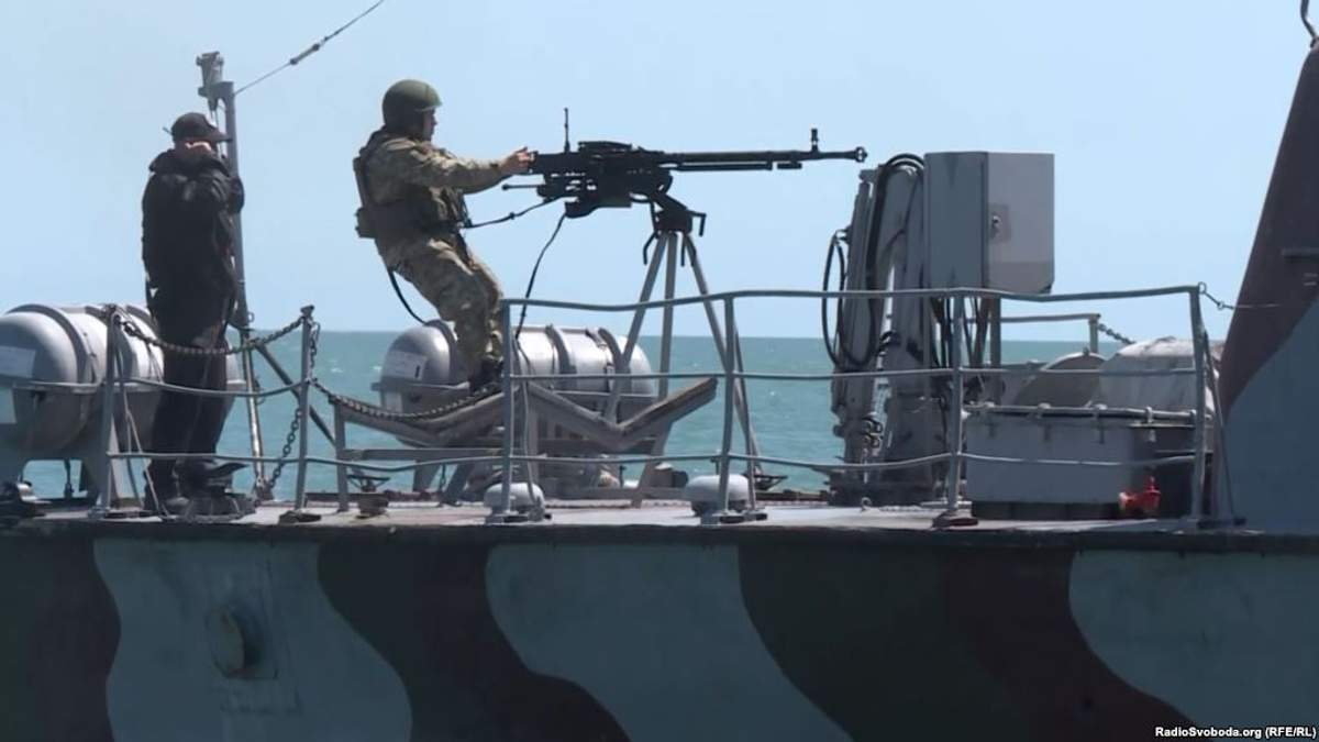 Ситуация на Азовском море угрожающая