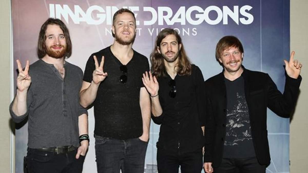 Концерт Imagine Dragons в Києві