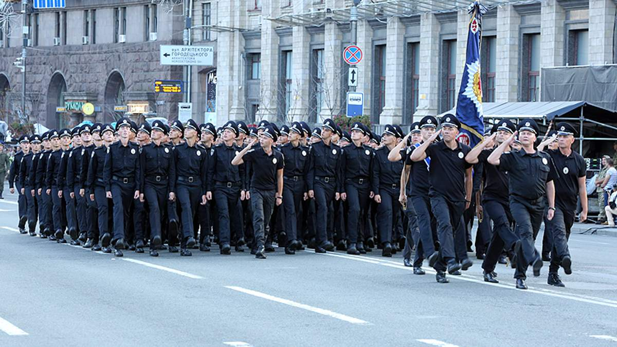 Підготування МВС до параду з нагоди 27-ї річниці незалежності України
