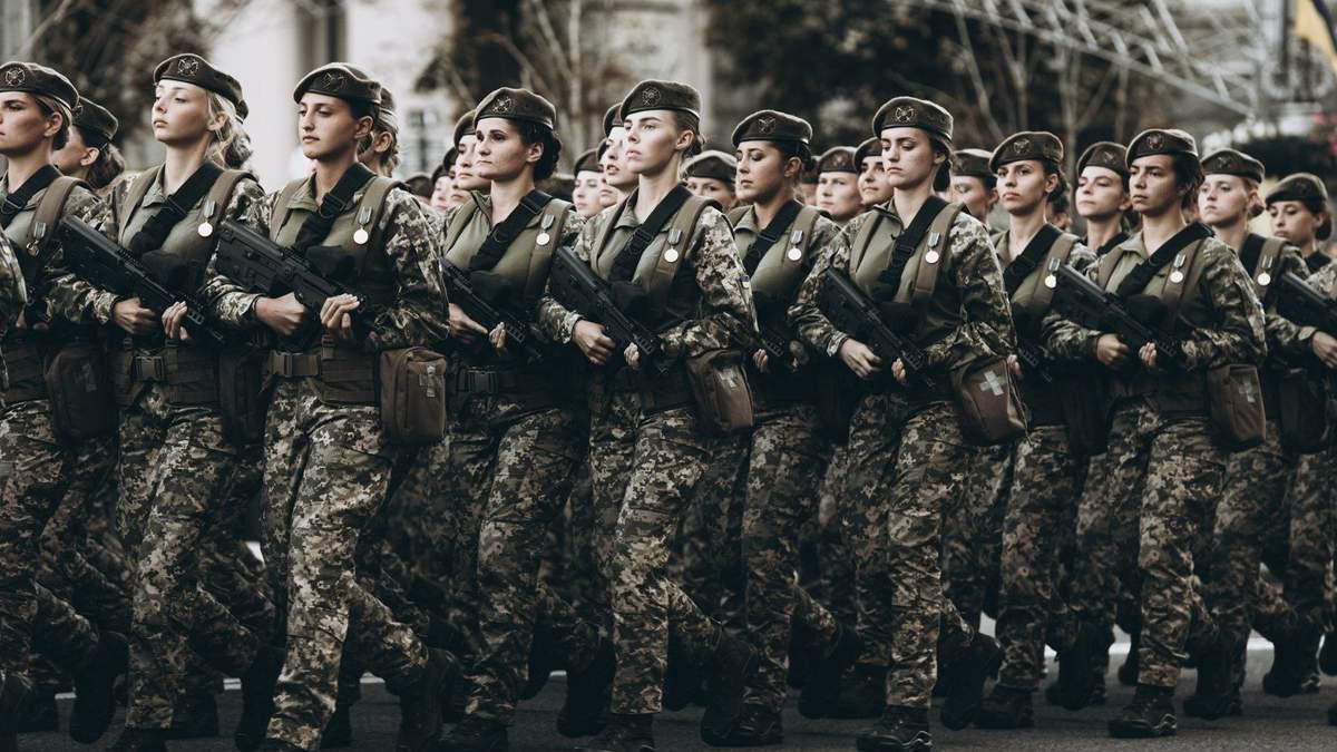 У лавах ЗСУ служать 25 тисяч жінок-військових