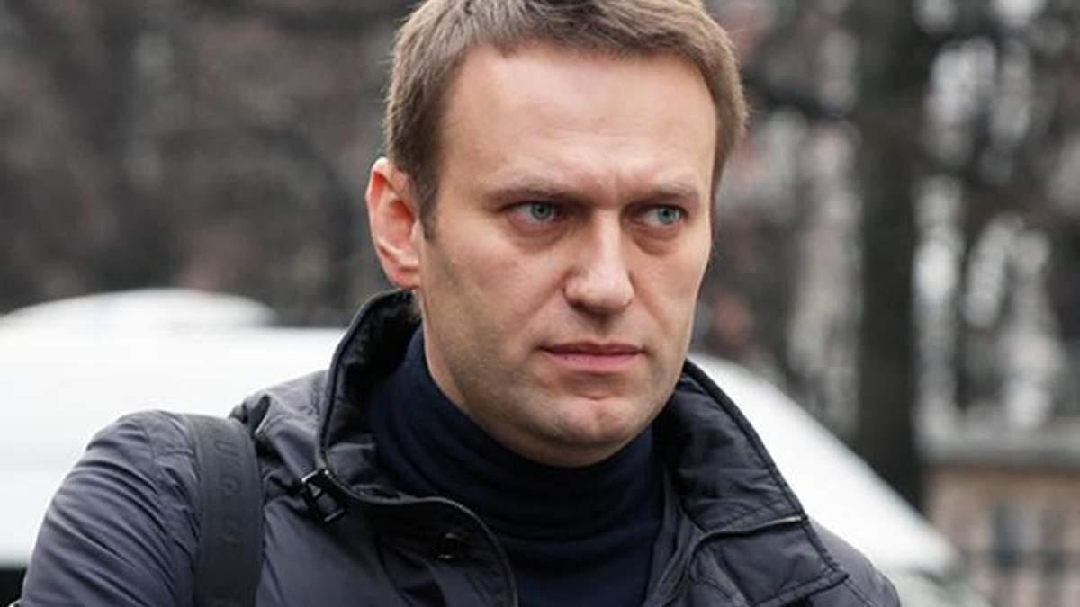 В Москве задержали оппозиционера Навального