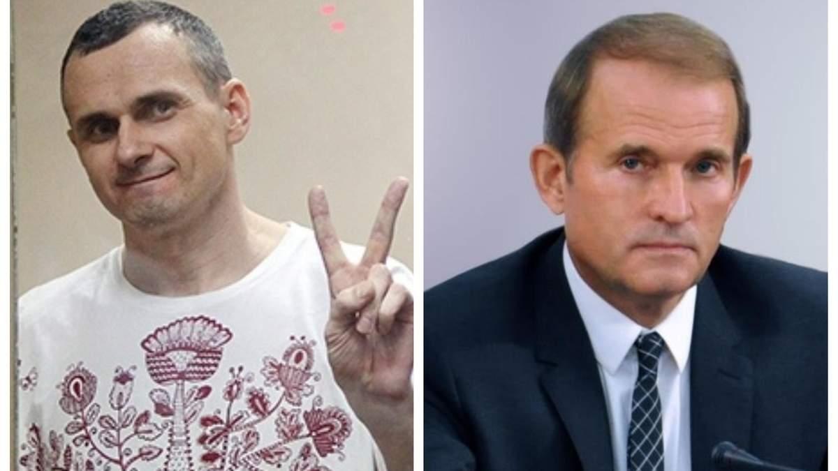 Сенцов вернется домой, заявил Медведчук