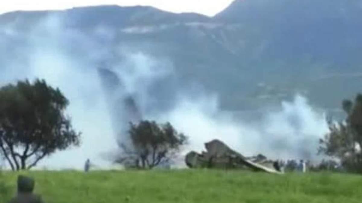 У Греції розбився військовий літак