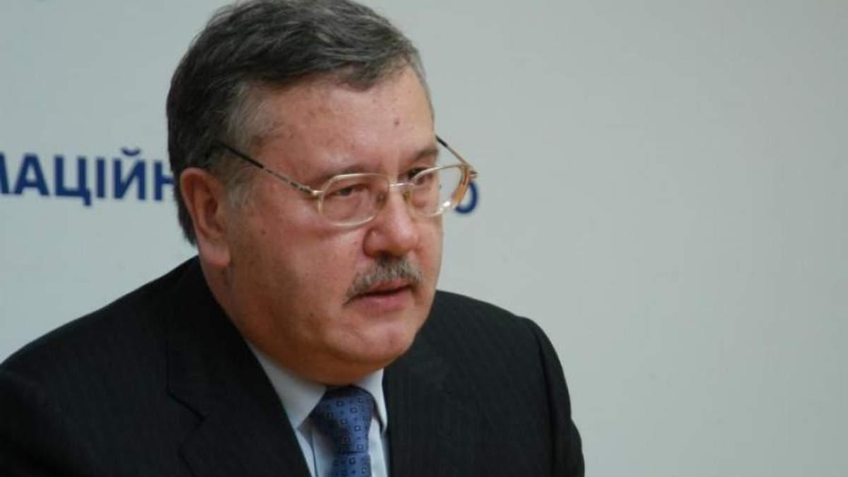 Гриценко стверджує, що отримав гарбуза від Наливайченка в Дніпрі