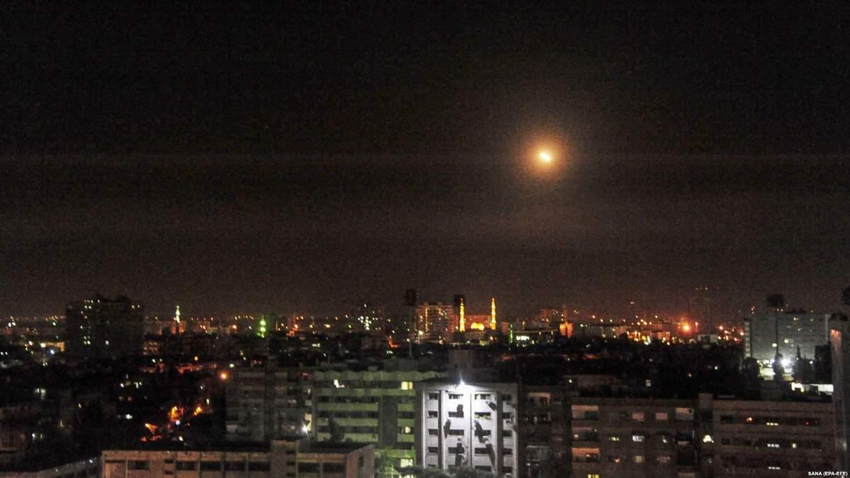 У Сирії пролунали вибухи неподалік столиці