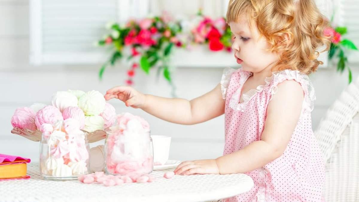 Які солодощі можна давати дітям