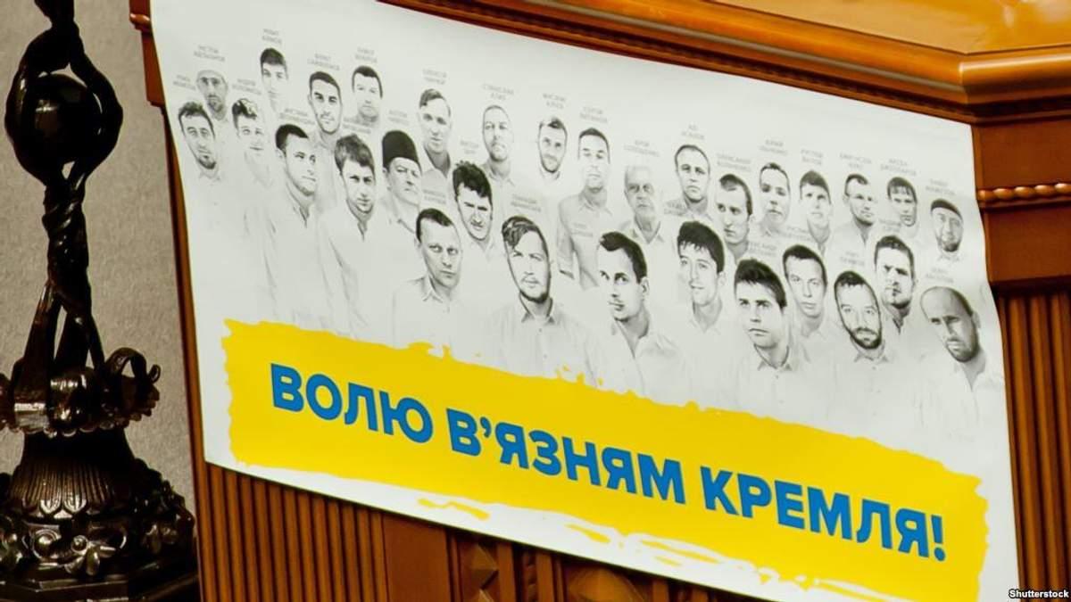 Сьогодні Україна повинна отримати від Росії інформацію про стан політв'язнів