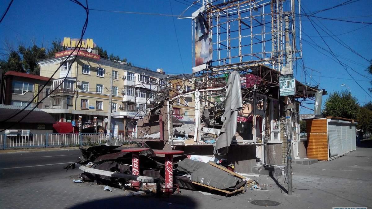 Луганск 2014-го