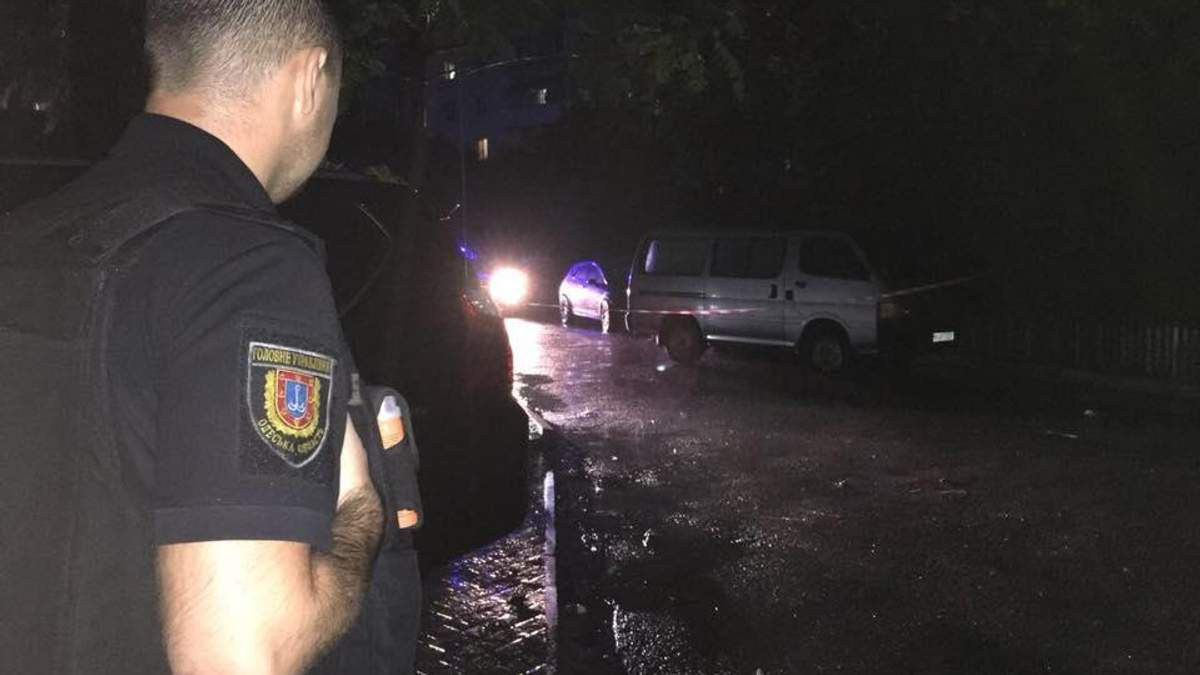 В Одессе обстреляли активиста: фото и видео