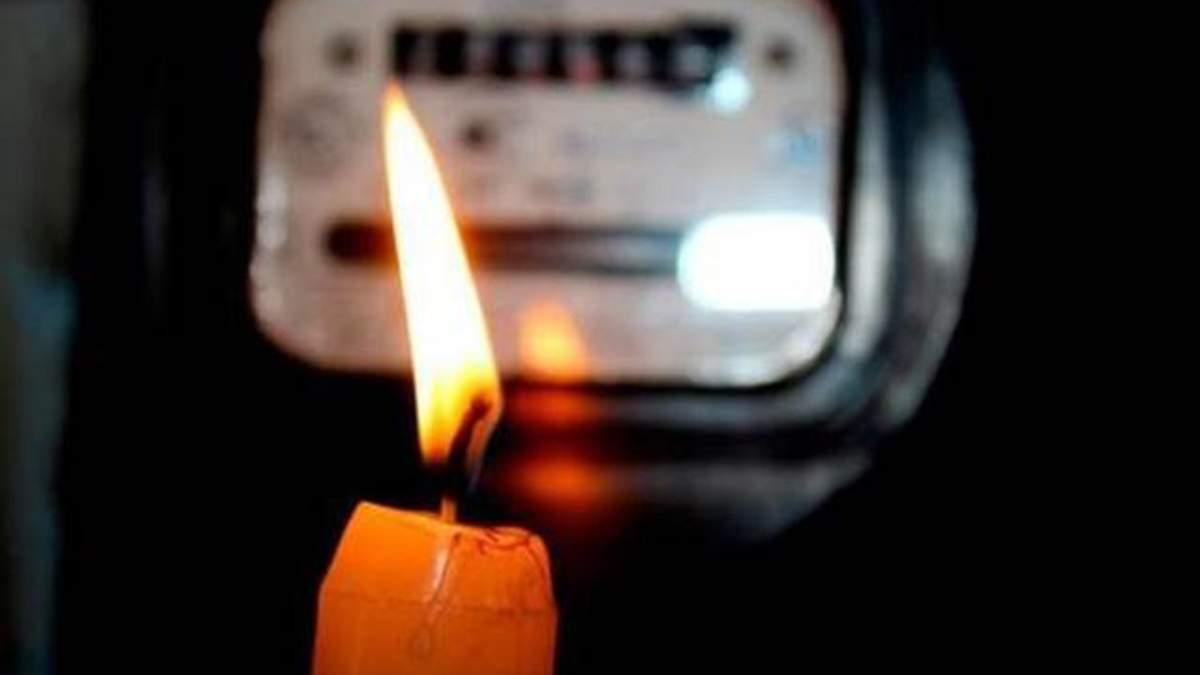 Из-за налета после химвыброса в Армянске начались проблемы с электричеством