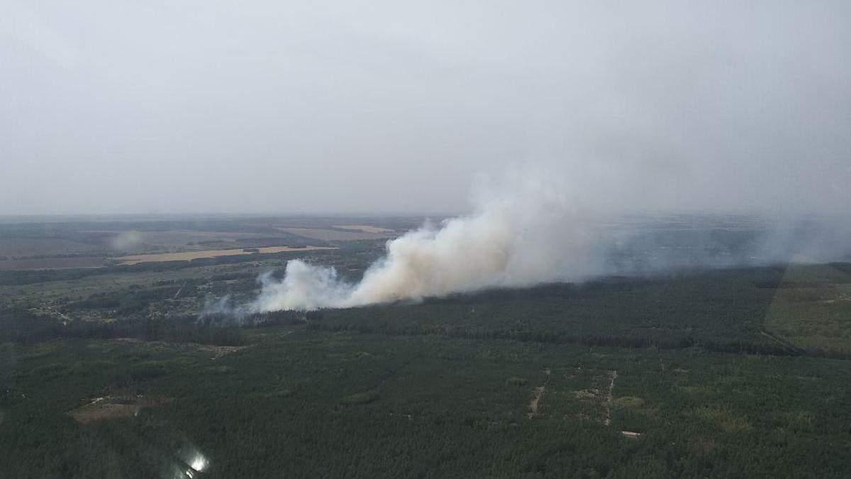 Вертолет спасателей упал на Харьковщине: есть пострадавшие
