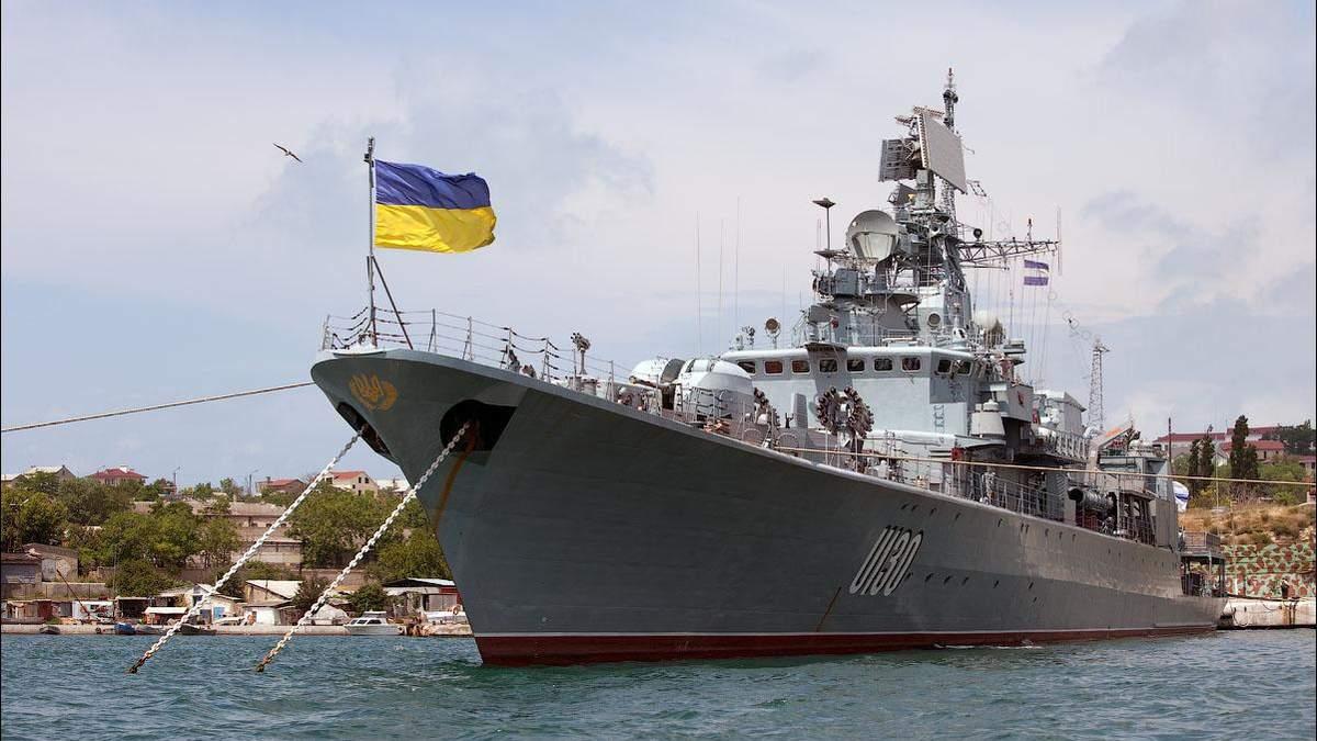 """Может ли фрегат """"Гетман Сагайдачный"""" защитить Азовское море?"""