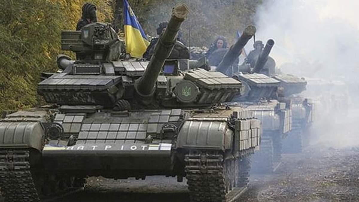 """""""Сталевий кулак"""" України міцнішає"""": День танкових військ відзначали на фронті"""