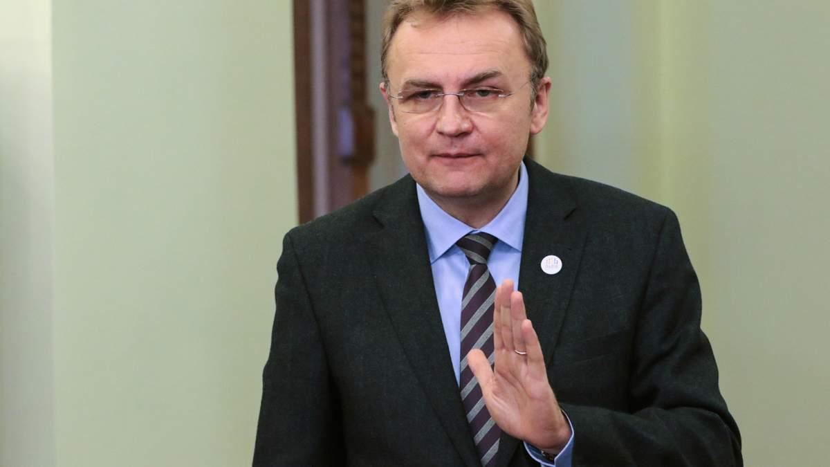 """Садовый прокомментировал исключение из """"Самопомочи"""" депутатов, причастных к коррупционной сделке"""
