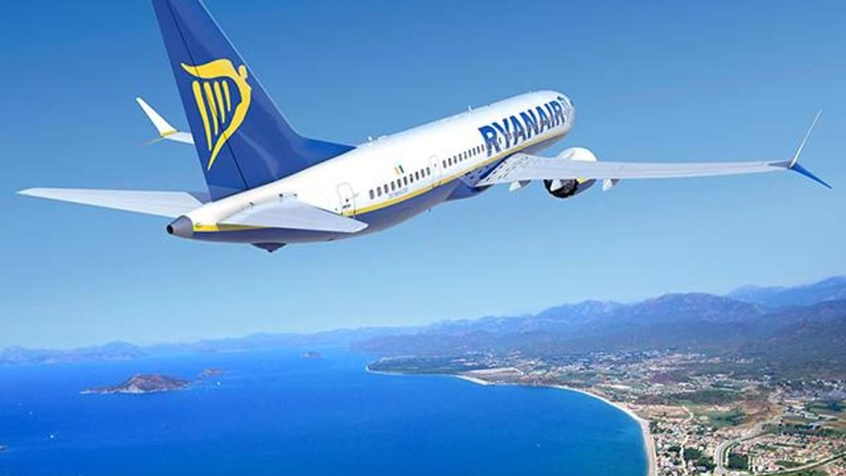 Ryanair будет выполнять авиарейсы из Херсона