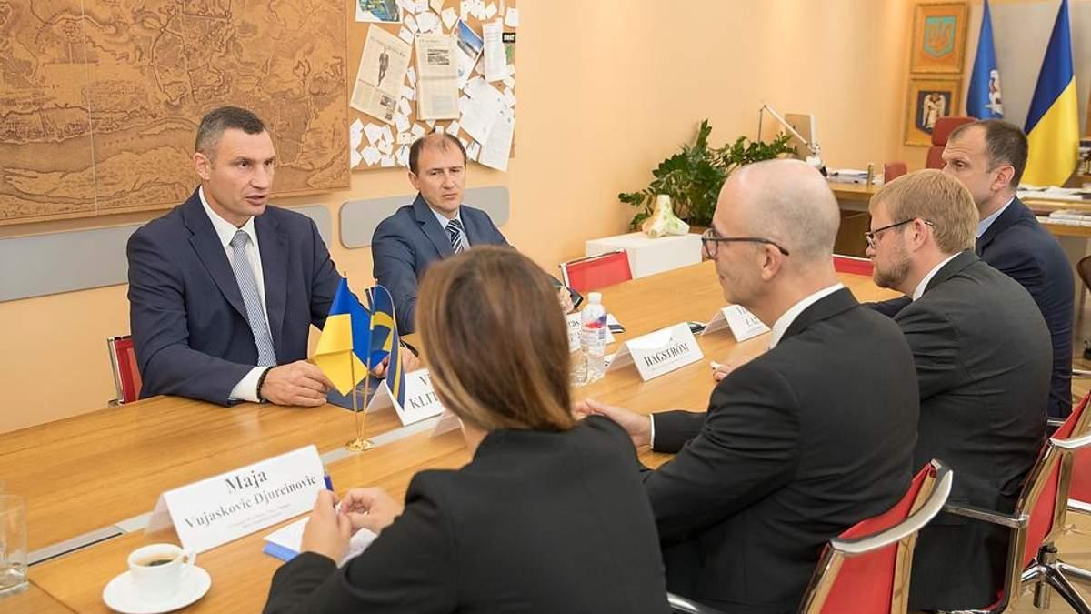 Виталий Кличко заявил во время встречи с представителями компании IKEA