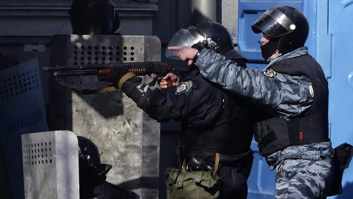 Один из экс-беркутовцев работает в полиции