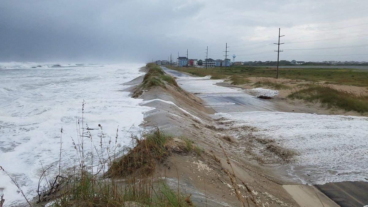 Ураган Флоренс в США: відео урагану 14 вересня 2018