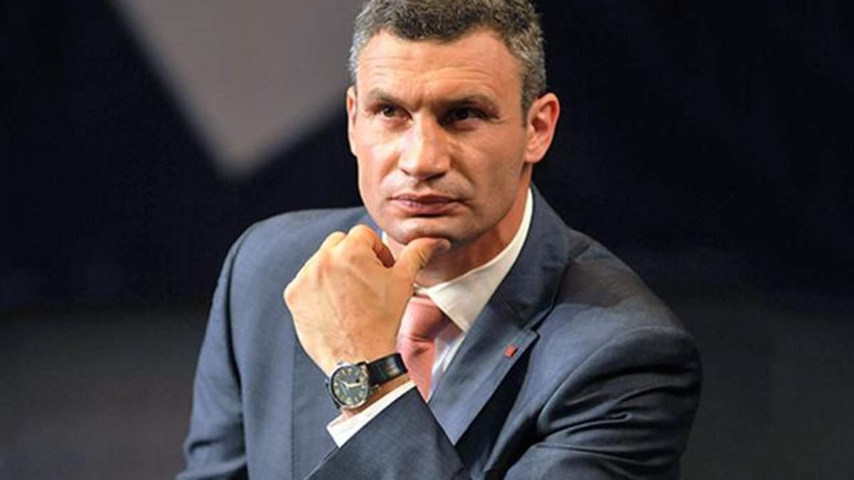 Віталій Кличко розповів, чи піде у президенти у 2019 році